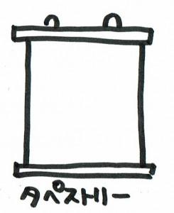 カーテン類似商品タペストリー
