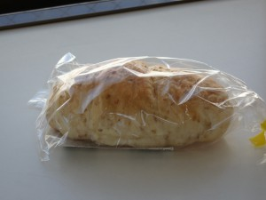 金ごまの塩パン